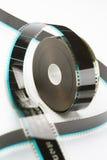 carretel de filme de 35mm Imagens de Stock Royalty Free