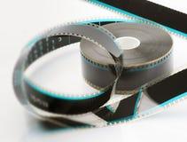 carretel de filme de 35mm Imagem de Stock