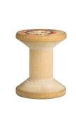 Carretel de madeira imagem de stock