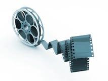 Carretel de película ilustração stock
