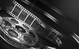 Carretel de película do cinema ilustração stock