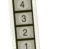 Carretel de película do vetor com contagem velha-syle Fotos de Stock Royalty Free