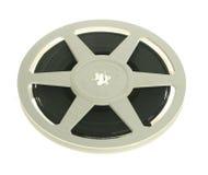 Carretel de película isolado fotografia de stock