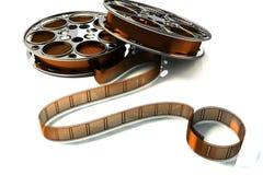 carretel de película 3d Fotos de Stock