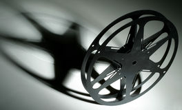 carretel de película de 16mm Imagens de Stock Royalty Free