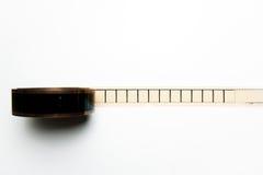 Carretel desenrolado do filme de 35mm com quadros vazios no positio horizontal Imagem de Stock Royalty Free