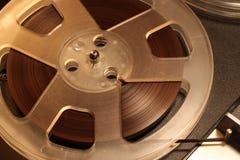 Carretel do vintage a bobinar fita Imagens de Stock Royalty Free
