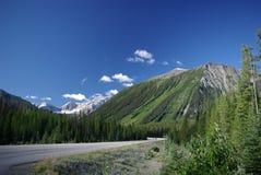 Carretera 93 Alberta Fotos de archivo libres de regalías