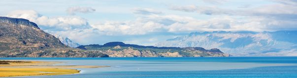 Carretera. Austral in southern Chile stock photography