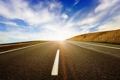 Carretera al cielo Imagenes de archivo