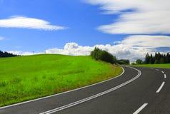 Carretera al cielo Imagen de archivo