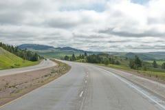 Carretera americana Fotografía de archivo libre de regalías