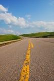 Carretera ascendente Fotos de archivo