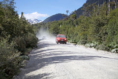The Carretera Austral, Chile Stock Images