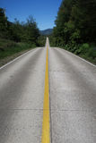 Carretera austral in chile Royalty Free Stock Images