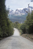 Carretera austral in chile Stock Images
