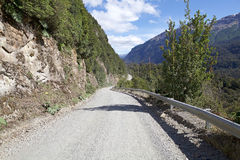 The Carretera Austral, Chile. The Carretera Austral in Chile. Carretera Austral is the Chile`s Route 7, the highway that runs about 1200 km trough the rural Royalty Free Stock Photos