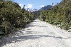 The Carretera Austral, Chile. The Carretera Austral in Chile. Carretera Austral is the Chile`s Route 7, the highway that runs about 1200 km trough the rural stock photos