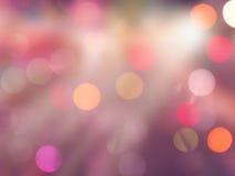 Carretera borrosa de las luces Fotografía de archivo libre de regalías