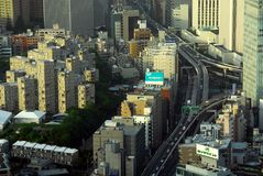 Carretera céntrica de Tokio Imagen de archivo