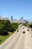Carretera a Chicago fotografía de archivo libre de regalías