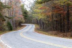 Carretera colorida Fotos de archivo libres de regalías