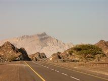 Carretera con curvas Fotografía de archivo libre de regalías