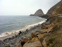 Carretera costera Imagenes de archivo