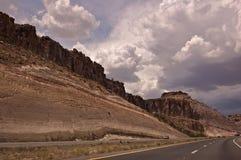 Carretera de Arizona Fotografía de archivo libre de regalías