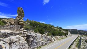 Carretera de Arizona imágenes de archivo libres de regalías
