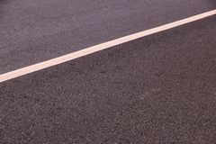 Carretera de asfalto Fotos de archivo