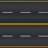 Carretera de asfalto stock de ilustración