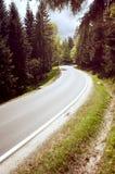 Carretera de asfalto Imágenes de archivo libres de regalías
