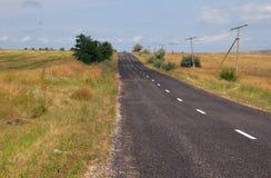 Carretera de asfalto Imagenes de archivo
