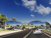 Carretera de asfalto. movimiento borroso Imagen de archivo libre de regalías