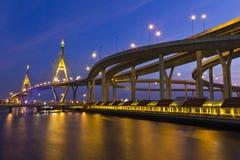 Carretera de Bangkok Fotografía de archivo