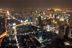 Carretera de Bangkok Imágenes de archivo libres de regalías