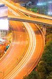 Carretera de Bangkok Imagen de archivo libre de regalías