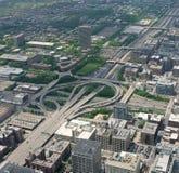 Carretera de Chicago Fotografía de archivo libre de regalías