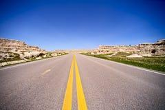 Carretera de Dakota Fotos de archivo libres de regalías