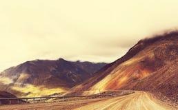 Carretera de Dalton fotografía de archivo libre de regalías