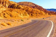 Carretera de Death Valley Imagenes de archivo
