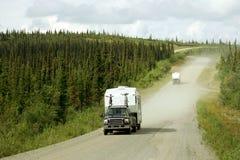 Carretera de Dempster imagenes de archivo