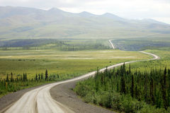 Carretera de Dempster Foto de archivo libre de regalías