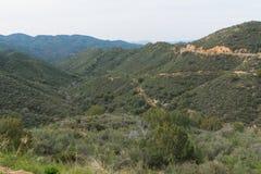 Carretera de la alta montaña fotografía de archivo libre de regalías