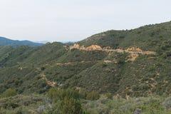 Carretera de la alta montaña foto de archivo