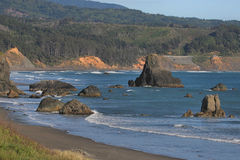 Carretera de la costa de Oregon fotos de archivo