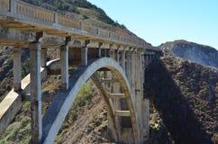 Carretera de la Costa del Pacífico, California Foto de archivo libre de regalías