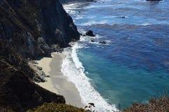Carretera de la Costa del Pacífico, California Fotografía de archivo