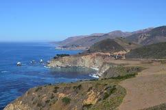 Carretera de la Costa del Pacífico, California Fotografía de archivo libre de regalías